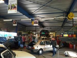 werkplaats garage reinbergen